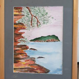 La Galerie de Jo - Tableau Aquarelle - La Pointe Grenier