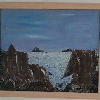 La Galerie de Jo - Tableau Cascade réalisé par Jo Bourget