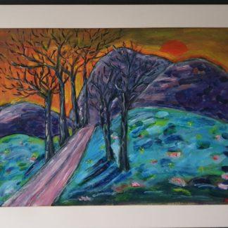 La Galerie de Jo - Chemin d'automne